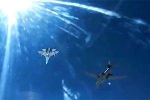 Xem tiêm kích Nga rượt đuổi máy bay ném bom hạt nhân Mỹ