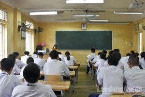 Hà Nội: Học sinh lớp 12 có 3 lần kiểm tra khảo sát