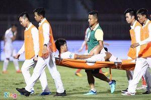 Đức Chinh dính chấn thương phải rời sân sau 20 phút thi đấu