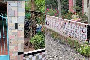 Trầm trồ trước ngôi nhà 'cực chảnh': Dùng hàng trăm chiếc iPhone để... ốp tường!