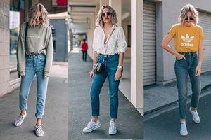 Những cách phối đồ với quần jean nữ đẹp mắt và sành điệu nhất