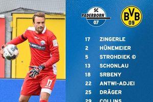 Paderborn vs Dortmund: Jadon Sancho sát cánh Thorgan Hazard