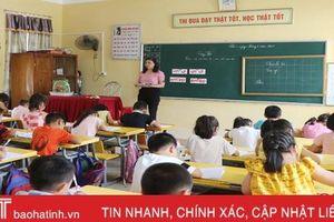 241 trường học ở Hà Tĩnh đã chọn xong sách giáo khoa lớp 1