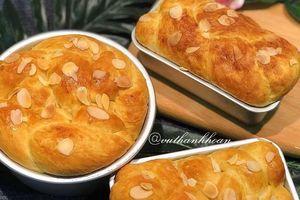 Công thức làm bánh mì hoa cúc thơm ngon tại nhà
