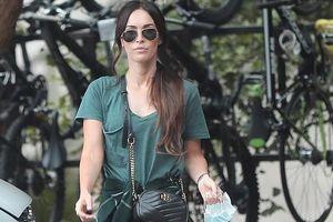 Megan Fox nhợt nhạt ra phố một mình sau khi ly hôn