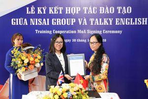 Talky English trở thành đối tác chính thức của Tổ chức Giáo dục Nisai, Anh Quốc
