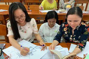 Giáo viên học cách tổ chức giờ đọc sách hiệu quả tại trường