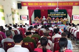 Nghệ An tích cực tổ chức đại hội đảng bộ cơ sở