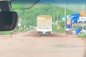 Cảnh báo ngập lụt trên Quốc lộ 6, địa phận tỉnh Sơn La