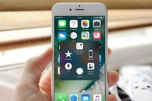 Thủ thuật kích hoạt phím home ảo trên iPhone nhanh và tiện lợi