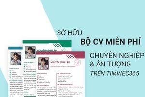 Tạo CV xin việc 365 thế hệ mới chinh phục sự nghiệp thành công