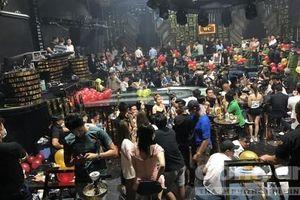 Gần 60 dân chơi dương tính ma túy trong quán bar ở Sài Gòn