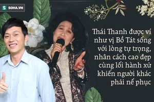 Danh ca Thái Thanh: Lòng tự trọng hiếm thấy, cho Khánh Ly khất nợ, một đời hy sinh cao đẹp