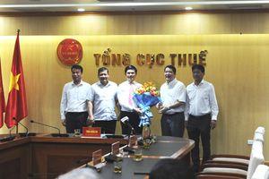 Ông Vũ Chí Hùng giữ chức Phó Tổng cục trưởng Tổng cục Thuế