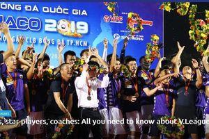 AFC ngợi khen V-League là giải đầu tiên ở châu Á trở lại sau dịch Covid-19