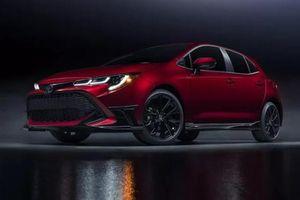 Toyota công bố mẫu Corolla Hatchback 2021 với phiên bản đặc biệt