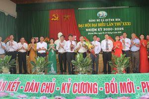 Đại hội đại biểu Đảng bộ xã Quỳnh Hoa (Quỳnh Lưu) lần thứ XXXI, nhiệm kỳ 2020 - 2025