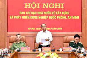 Thủ tướng Chính phủ Nguyễn Xuân Phúc: Tiếp tục kiện toàn tổ chức công nghiệp quốc phòng