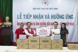 AB InBev hỗ trợ người dân ảnh hưởng hạn mặn ở Duyên hải Nam Trung Bộ và Đồng bằng sông Cửu Long