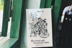 Nhà văn Trung Sỹ ra mắt cuốn tiểu thuyết chiến tranh 'Đội trinh sát và con chó Sara'