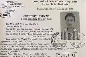 Công an Quảng Nam tung lực lượng truy bắt phạm nhân trốn trại