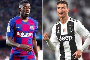 Ousmane Dembele sắp thành đồng đội của Ronaldo
