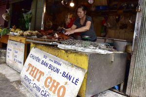 Hà Nội sau 2 năm kêu gọi không ăn thịt chó, mèo: Quán thịt chó vẫn đông khách