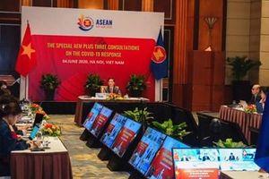 Thông qua Tuyên bố chung của Bộ trưởng kinh tế ASEAN+3 về giảm thiểu tác động kinh tế do Covid-19