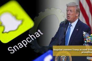 Sau Twitter, đến lượt Snapchat 'ra tay' với tài khoản của Tổng thống Trump, lý do là gì?