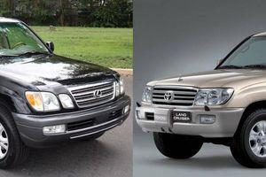 Cận cảnh 2 mẫu SUV lừng danh một thời của đại gia Việt
