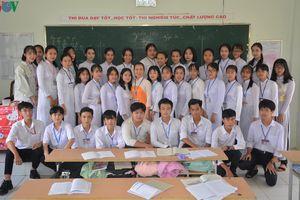 Học sinh dễ tiếp thu kiến thức khi cô giáo dùng cải lương dạy Truyện Kiều