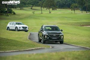 Hyundai Santa Fe: Nổi bật hơn với HTRAC