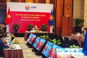 Hội nghị Bộ trưởng Kinh tế ASEAN+3 trực tuyến đặc biệt bàn các giải pháp về ứng phó dịch COVID-19