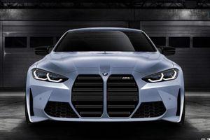 BMW M4 2021 lộ diện - lưới tản nhiệt vẫn là điểm nhấn