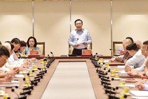 Văn nghệ sĩ, trí thức, chức sắc tôn giáo góp ý vào Dự thảo văn kiện Đại hội lần thứ XVII Đảng bộ TP Hà Nội