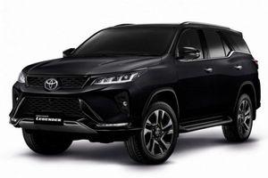 Biến thể cao cấp Toyota Fortuner Legender có gì nổi bật?