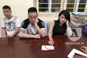 Đi chơi cùng 2 bạn nam, cô gái trẻ nhận tội tàng trữ ma túy về mình