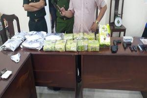 Bắt thêm 6 người trong vụ buôn 20 kg ma túy ở Long An