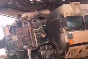 Tên lửa Pantsir-S1 bị đốt cháy ở Libya