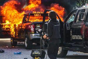 Cảnh sát và người biểu tình tại Mexico đụng độ dữ dội
