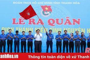Thanh Hóa: Ra quân Chiến dịch Thanh niên tình nguyện hè 2020