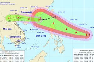 Siêu bão Mangkhut tiếp tục tăng cấp, đổ bộ Bắc biển Đông trong 3 ngày tới