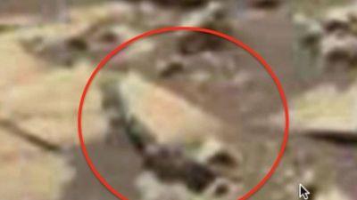 'Soi' hình ảnh nghi bình cổ người ngoài hành tinh trên sao Hỏa