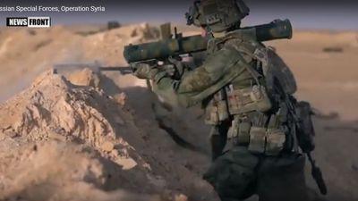 Cận cảnh đặc nhiệm Nga cứu hộ thi thể binh sĩ hy sinh ở Syria