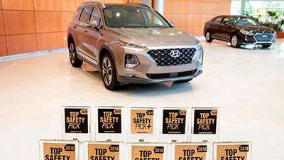 Hyundai là nhà sản xuất xe ôtô an toàn nhất năm 2018