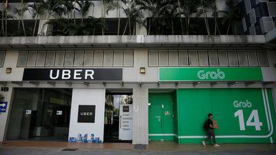Singapore phạt Grab và Uber 222 tỉ đồng