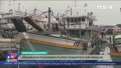 Ngư dân Indonesia bị bắt cóc đòi tiền chuộc