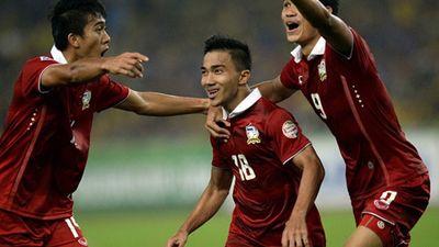Đội tuyển Thái Lan thâm hụt đội hình dự AFF Cup