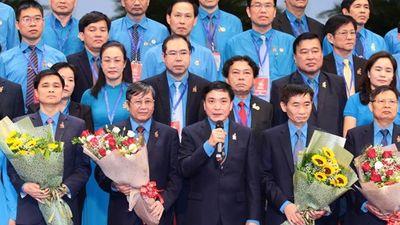 Ra mắt BCH Tổng Liên đoàn Lao động Việt Nam khóa XII