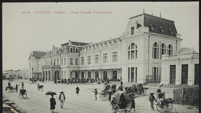 Ảnh để đời về kiến trúc Hà Nội xưa của Bảo tàng Quốc gia Pháp